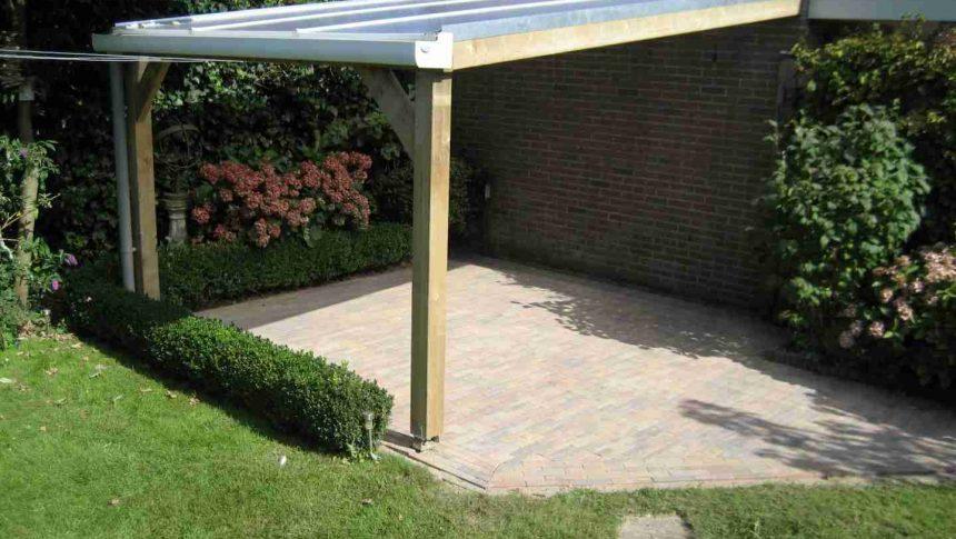 Bestrating en veranda limmen